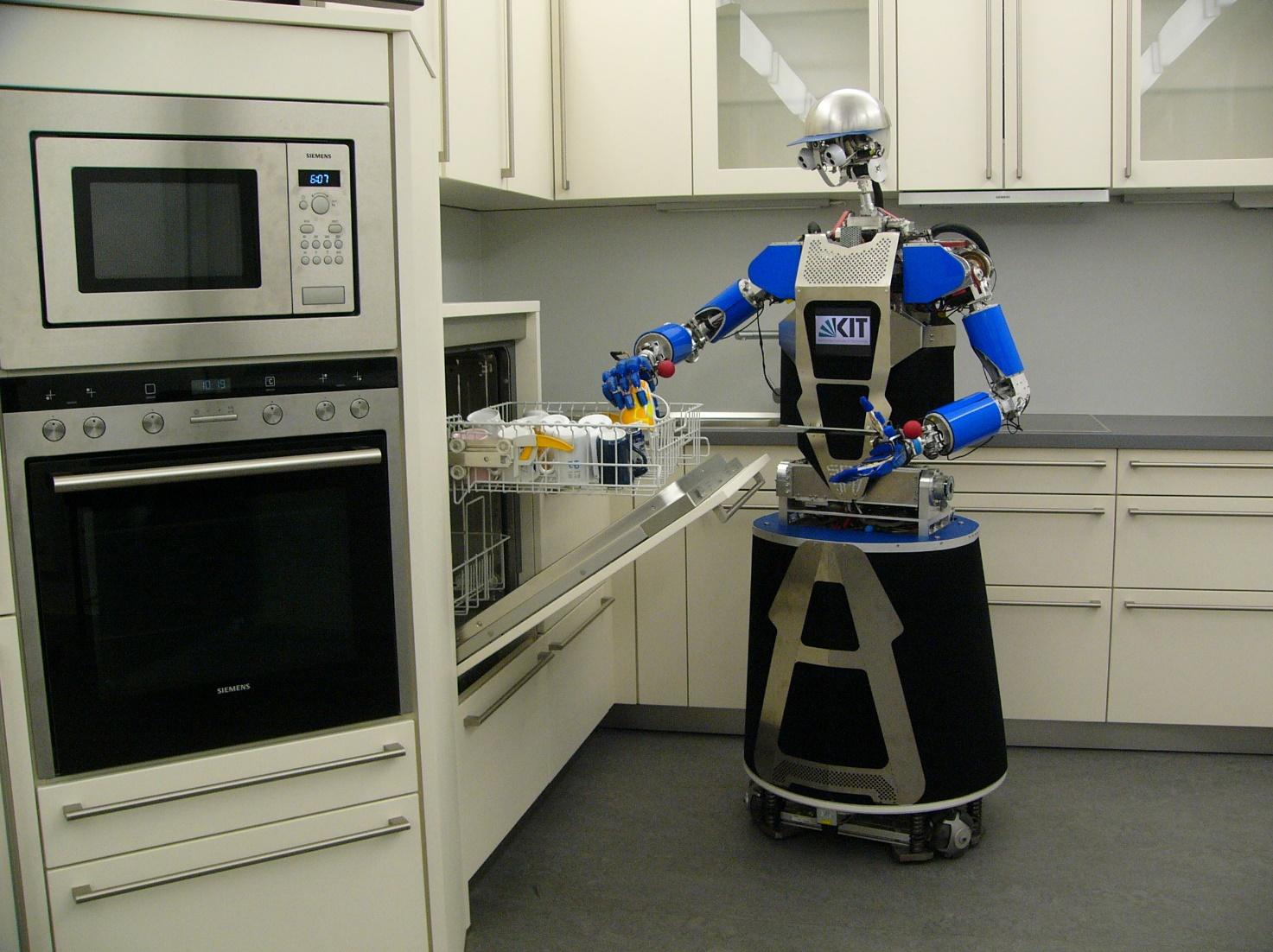 Image ARMAR-III in a robot kitchen