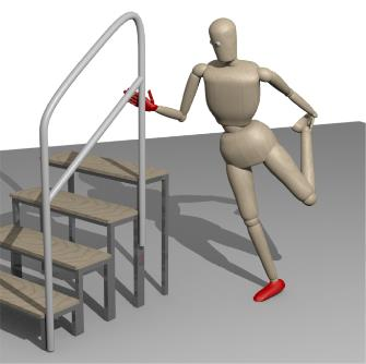 Image Human Motion Analysis with Vicon