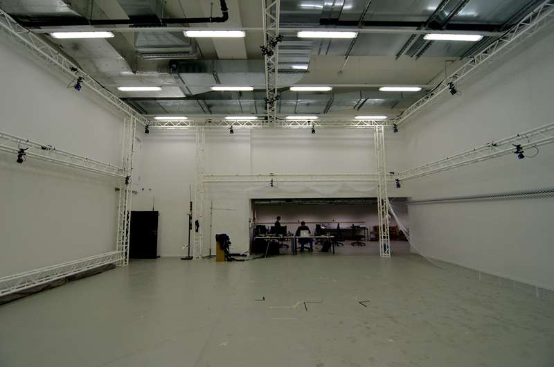 Image Motion capture arena