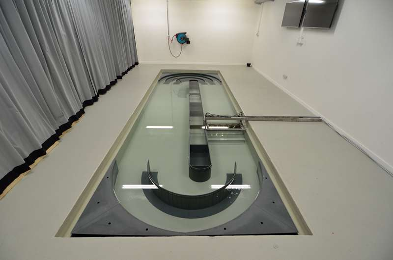 Image Swimming Pool and Flow tank