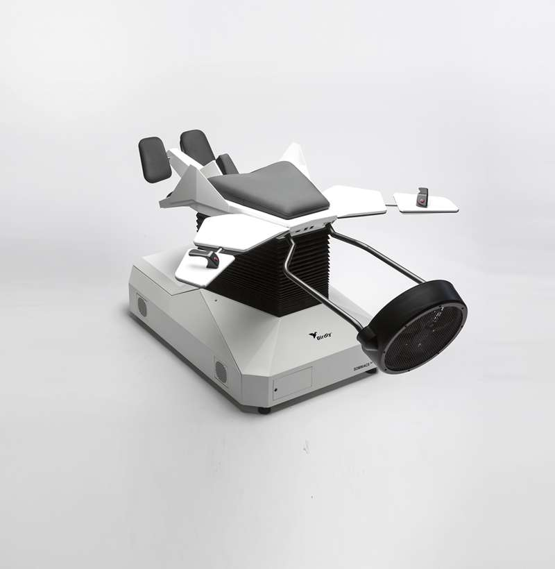 "Image ""Birdly"" flight simulator with haptic feedback"