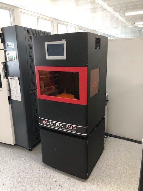 Image 3D Printer: EnvisionTEC Ultra 3SP