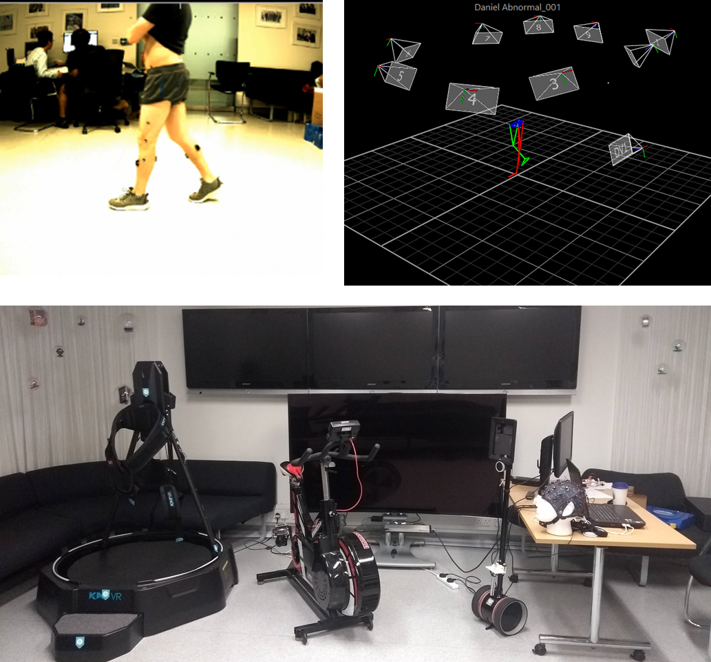 Image Motion capture and virtual reality platform