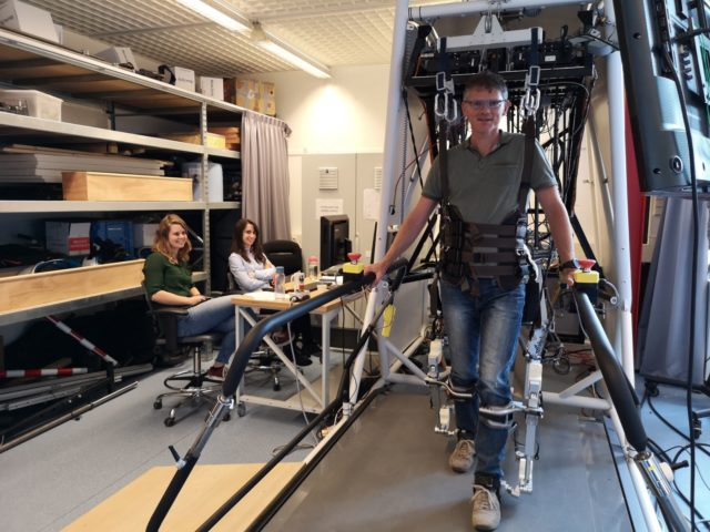 "TERRINet SUCCESS STORY: ""Flow-field"" and ""Neuromuscular"" Control Algorithms for AAN Gait Rehabilitation Tested On  Lopes Exoskeleton for Potential Commercial Use"