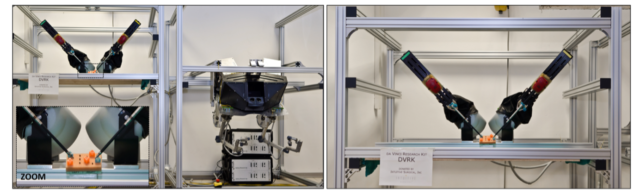 TERRINet SUCCESS STORY: Robotics Surgical Tasks Data Acquisition on the da Vinci Research Kit Platform